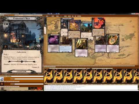 Lord of the Rings LCG - LackeyCCG Tutorial