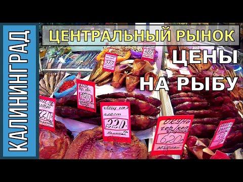 """рыбные ряды"" Калининград, центральный рынок 27 сентября 2017г"