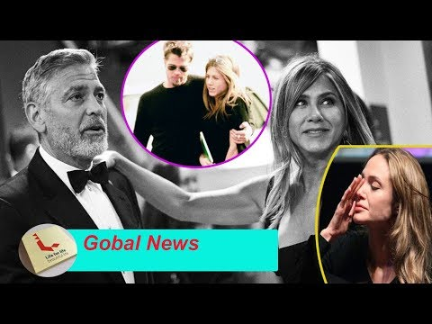 New report: George Clooney help Jennifer Aniston and Brad Pitt successful reunion