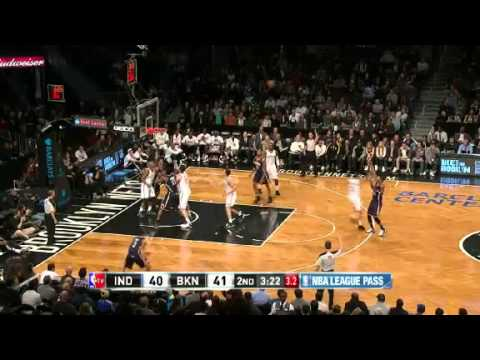 Pacers vs. Nets | Game Recap  | NBA 2012-13 Season 13/01/2013