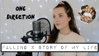 Harry Styles/1D - Falling x Story Of My Life MASHUP | cover