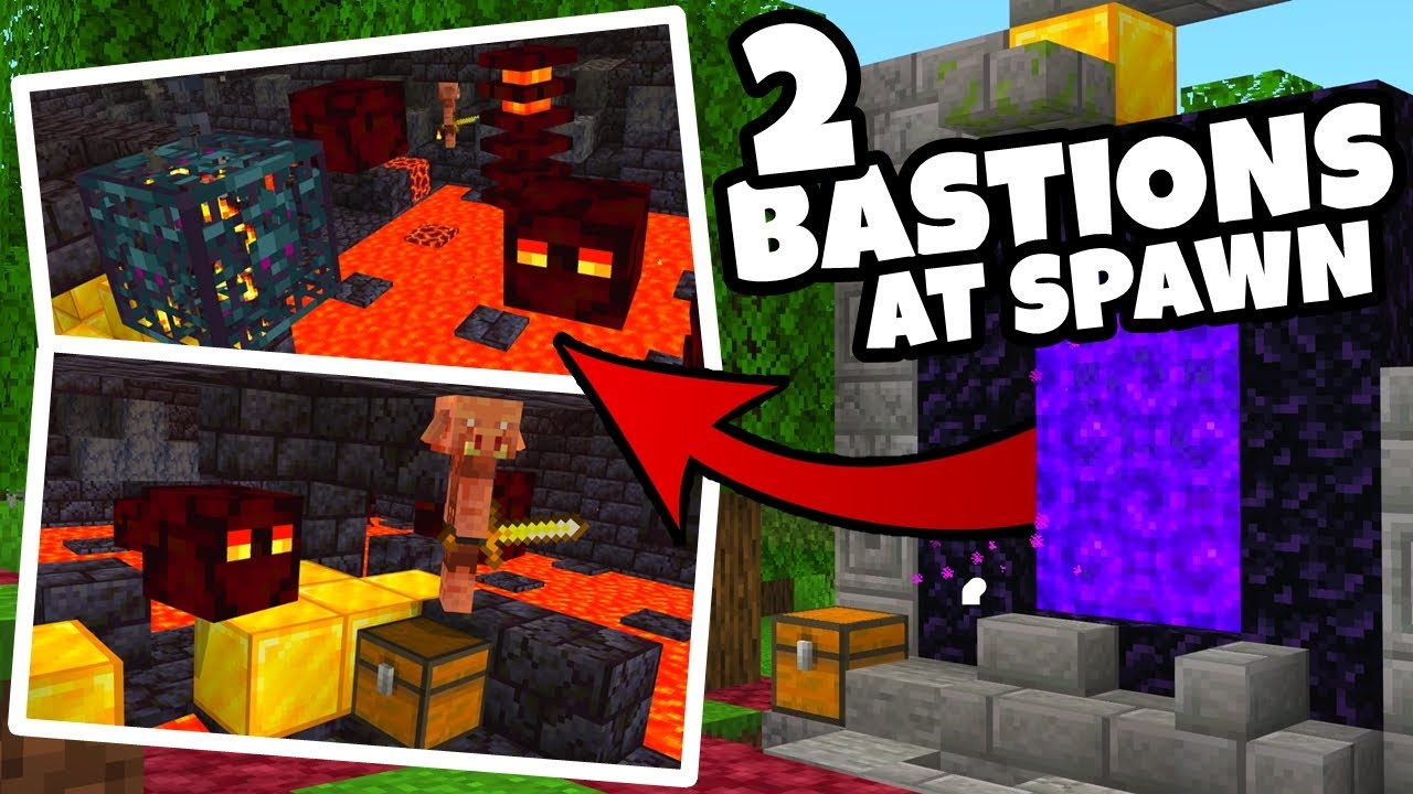 EASY NETHER FORTRESS SEEDS For Minecraft 10.106 Nether Update
