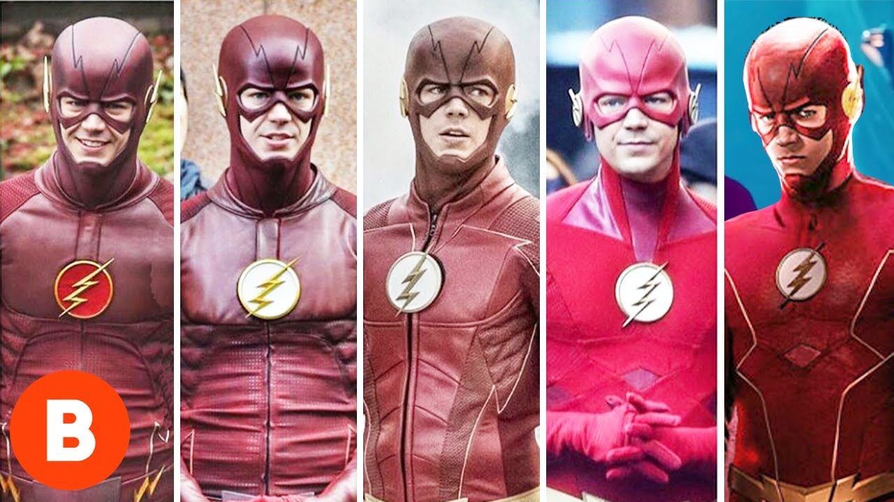 The Flash Characters Season 1 To Season 6 - YouTube