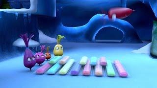 Прикольный мультик «Овощная вечеринка» - Мороженное (88 серия)