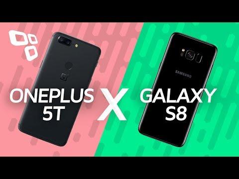 Comparativo: OnePlus 5T vs. Galaxy S8 - TecMundo