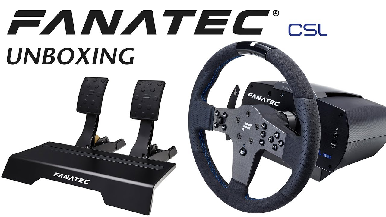 fanatec csl elite for ps4 unboxing youtube. Black Bedroom Furniture Sets. Home Design Ideas