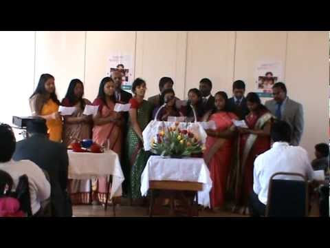 Tamil Christian Song - Irul Soolntha Logathil sung by members of SDA Church, Manchester