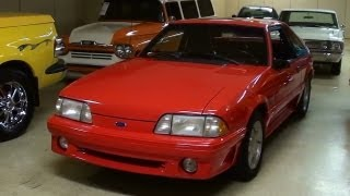 1993 Ford Mustang GT 5.0 Five-Speed Nice Low Mileage Fox Body Startup and Walkaround
