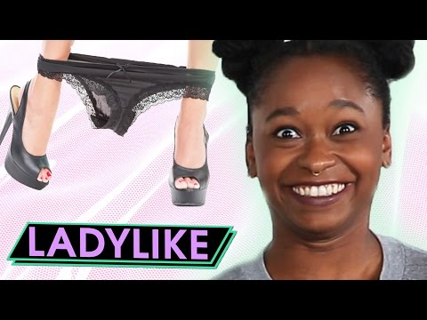 Thumbnail: Women Wear Expensive Lingerie For A Week • Ladylike