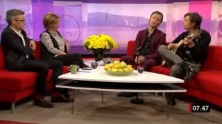Mando Diao - Intervju + Snigelns Visa (Gomorron Sverige 2012)