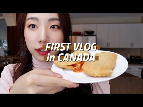 Canada Vlog | Korean mart, X-mas market, IPhone8  :: Nara