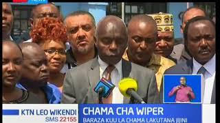 Chama cha Wiper chaamua kuunga mkono mipango ya Rais Kenyatta