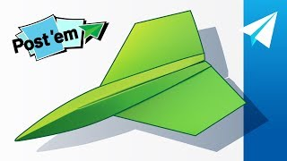 Incredible Sticky Note Paper Airplane! How to Make the F-31 Phantom