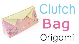Clutch Bag Pochette (Handbag) Origami Paper - Origami Kawaii〔#114〕