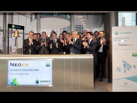 Neoen lists on Euronext