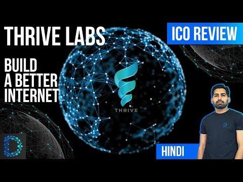 ICO Review - Thrive (THRT Token) - Premium Decentralized Ad Marketplace on Blockchain - [Hindi/Urdu]