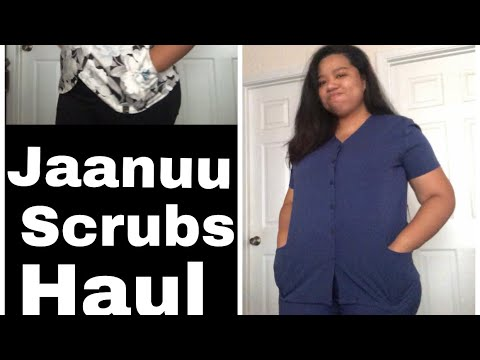 0366161083a Medical Scrubs Haul   JAANUU - YouTube