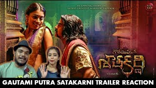Gautamiputra Satakarni Trailer Reaction | Nandamuri Balakrishna, Shriya Saran