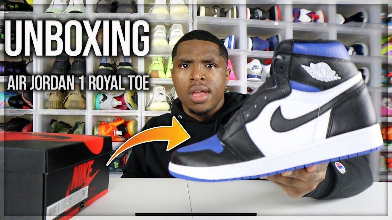 Sneakers Release Jordan 1 Retro High Og Game Royal Black White Game Royal Men S And Boys Shoe