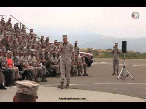 Colonel Roger Turner - 3rd Battalion Address
