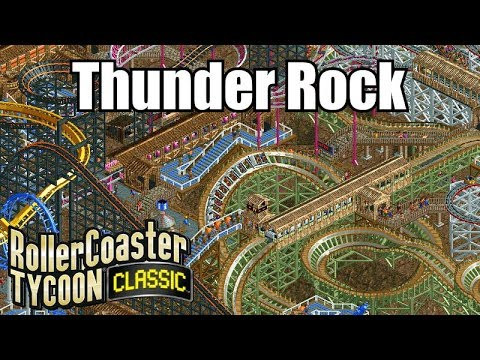 Roller Coaster Tycoon Classic - Thunder Rock