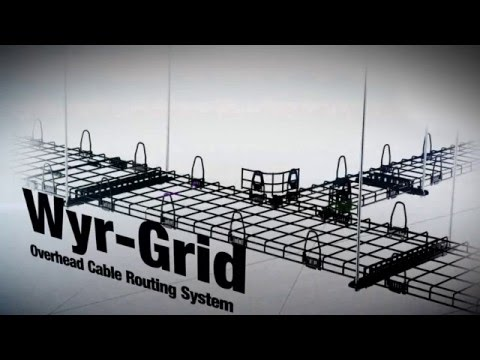 Upside Down Wire Mesh Cable Tray Benefits - YouTube