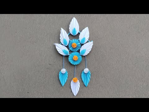 Paper Wall Hanging // DIY Easy Paper Wall Hanging Ideas // DIY Wall Hanging Decoration
