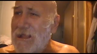 Epic Grandpa: Angry Grandpa Nair In Shampoo Prank with Dramatic Background Music