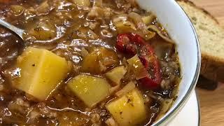 Постный Армянский суп Крчик | Քրչիկ | Pickled cabbage soup