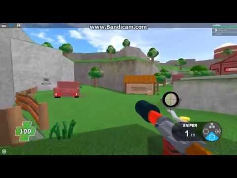 Roblox Mad Paintball 2 Sniper Battle Youtube