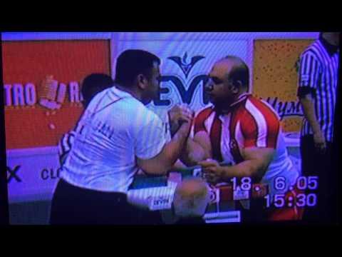 zurab baxtiyarov vs turkey european armwrestling 2005 bulgaria