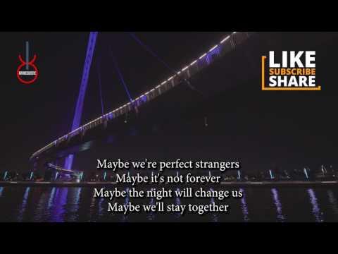 Perfect Strangers (acoustic karaoke) - Jonas Blue