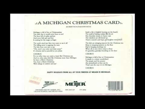 A Michigan Chritmas Card by The Meijer Singers