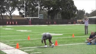Jerry Rice, Jr. NFL Workout