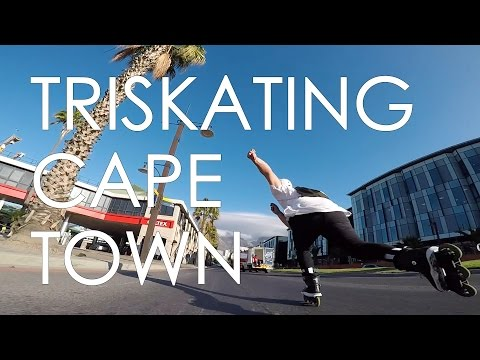 TRISKATES FREESKATING IN CAPE TOWN - FEAT MY FAV INLINE SKATING VIDEO EDITOR GREG FRASER // VLOG71