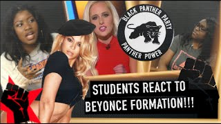STUDENTS REACT TO BEYONCE FORMATION!!!