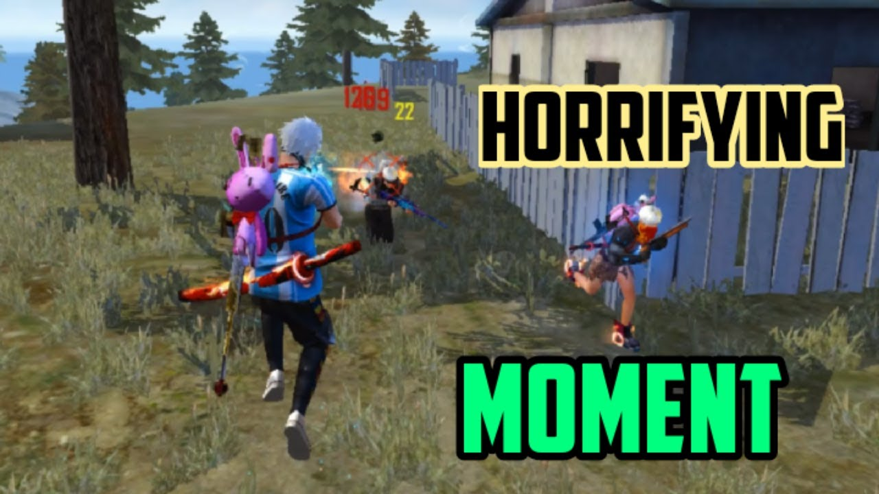 Solo Vs Squad Situation l Horrifying Moment  l Garena Free Fire - God Roy Gaming