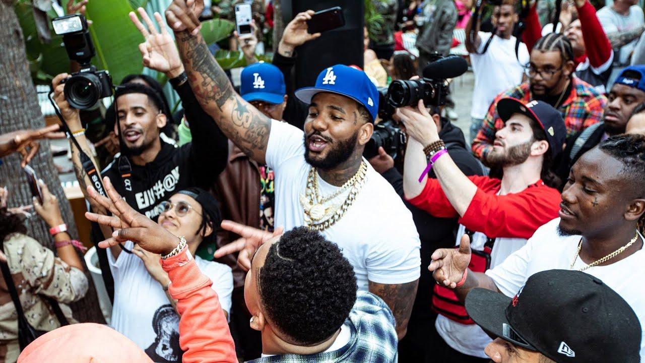 Game Reveals Unheard Nipsey Hussle Verse at Born 2 Rap Album Listening Party + Nicki Minaj