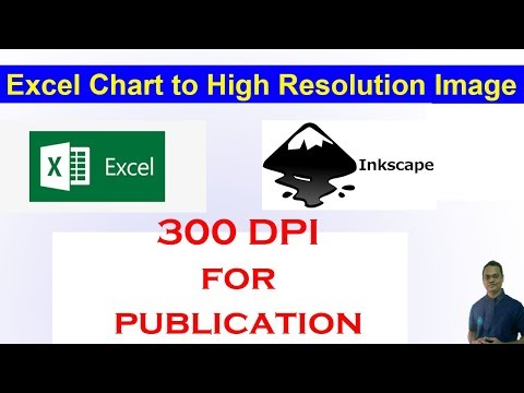 Convert Excel Charts/Graphs to High Resolution Images (300 DPI)