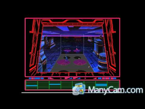 classic arcade games game no 83 disc of tron