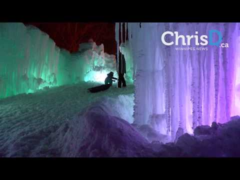 Ice Castles Media Preview - January 4, 2018 - Winnipeg, Manitoba