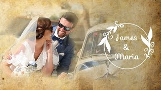 Wedding in Spain, Orihuela Costa. James and Maria. Videographer in Spain ArtVision