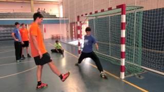 Ejercicios específicos para los porteros - Sesión de Toni Gerona (9 de julio del 2013)