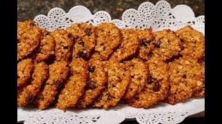 OATMEAL RAISIN COOKIES - Bonita&#39s Kitchen