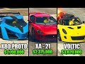 TOP 10 MOST EXPENSIVE CARS IN GTA 5 ONLINE!