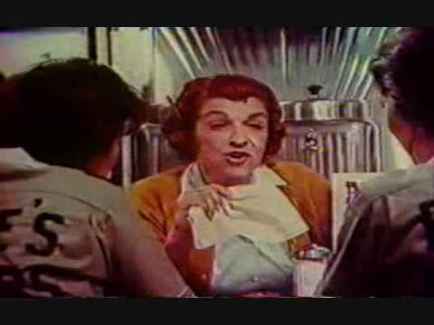 Old Commercial for Bounty  Rosie The Waitress Returns