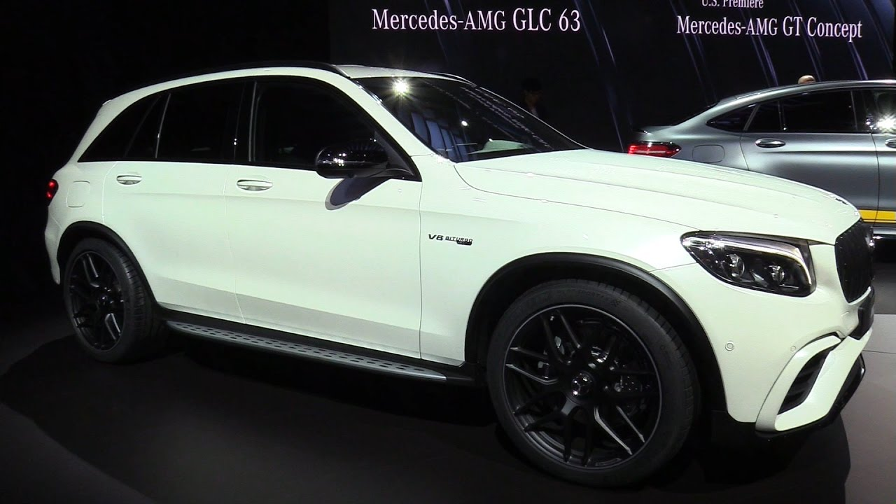 2018 Mercedes Amg Glc 63 Exterior And Interior Walkaround Debut At 2017 New York Auto Show