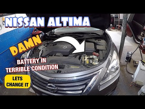 How to replace battery on 2015 Nissan Altima and SAVE $200