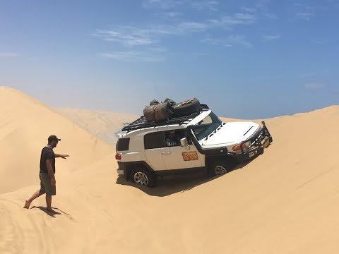 Namibia Desert Drive 2017
