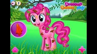 Pinkie Pie Messy Cleaning -Cartoon for children -Best Kids Games -Best Baby Games -Best Video Kids